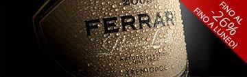 Acquista on line gli spumanti di Ferrari