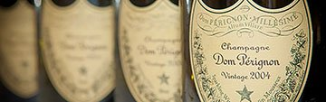 Acquista on line il Dom Perignon e gli champagne Moet et Chandon